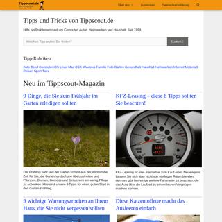 Tipps und Tricks von Tippscout.de - Tippscout.de