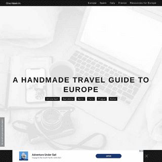 One Week In Europe 2020 - Handmade Travel Blog with City Guides