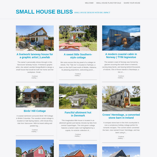 Small House Bliss - Small house designs with big impact