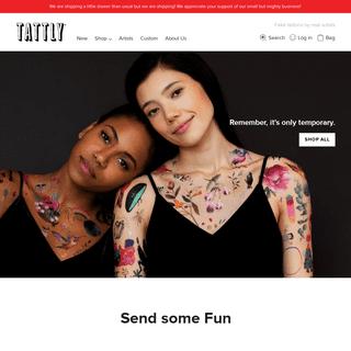 Tattly - Temporary Tattoos by Real Artists – Tattly Temporary Tattoos