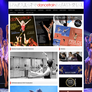 Dancetrain Magazine latest issue out now