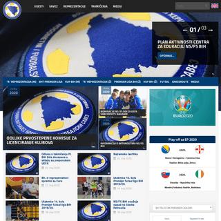 Nogometni-Fudbalski savez Bosne i Hercegovine