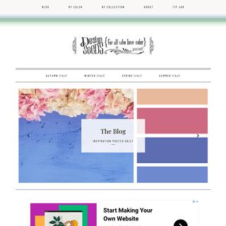 Design Seeds - for all who ♥ color - inspiration & color palettes