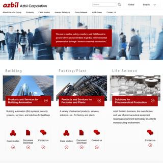 Azbil Corporation (former Yamatake Corporation)