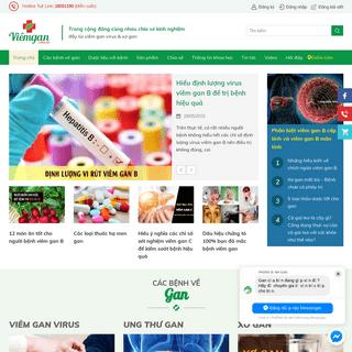 Viemgan.com.vn - Đẩy lùi Viêm gan virus b & Xơ gan