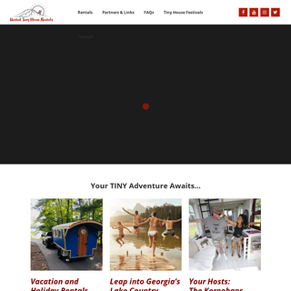 Home - United Tiny House Rentals and Vacations
