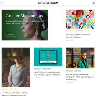 ArchiveBay.com - creativeboom.com - Art & Design Magazine for the Creative Industries - Creative Boom
