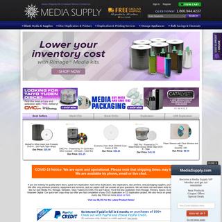 DVD Duplication, CD Duplication, USB Flash Drive Duplication - Media Supply