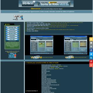 Logiciel convertisseur gratuit pour convertir un DVD en MP4 - MKV - AVI et convertir les vidéos en MKV, AVI, DivX, h264, Ripper