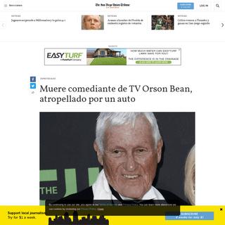 ArchiveBay.com - www.sandiegouniontribune.com/en-espanol/noticias/story/2020-02-08/muere-comediante-de-tv-orson-bean-atropellado-por-un-auto - Muere comediante de TV Orson Bean, atropellado por un auto - San Diego Union-Tribune en Español