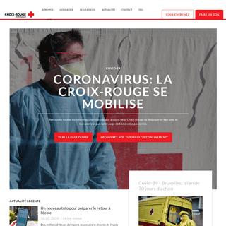 Croix-Rouge de Belgique - Ensemble, luttons contre les vulnérabilités