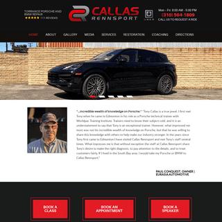 Torrance Porsche and BMW Repair - Callas Rennsport