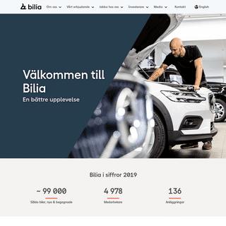Välkommen till Bilia investor relation - Bilia.com