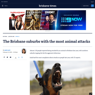 ArchiveBay.com - www.brisbanetimes.com.au/national/queensland/the-brisbane-suburbs-with-the-most-animal-attacks-20200212-p5408e.html - The Brisbane suburbs with the most animal attacks