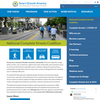 National Complete Streets Coalition - Smart Growth America