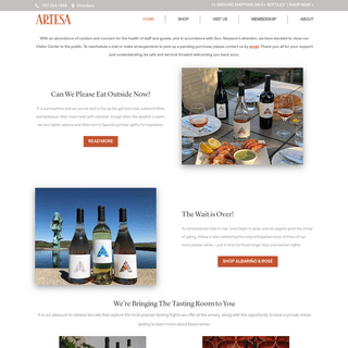 Home - Artesa Estate Vineyards & Winery