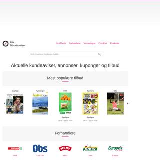 Alle Tilbudsaviser - aktuelle kundeaviser og salg hos butikkjeder og supermarkeder
