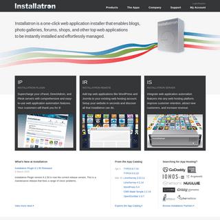 One-click web application auto-installer - Installatron