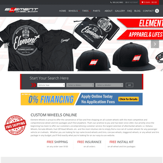 Custom Wheels and Tires - #1 in Aftermarket Rim & Tire Packages