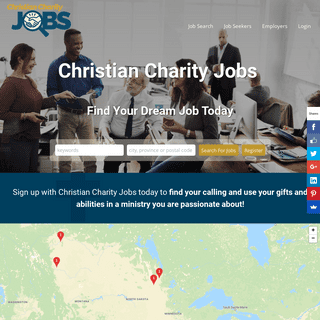 Christian Charity Jobs - Canada's source for Christian charity employment opportunities and talented ministry professionals