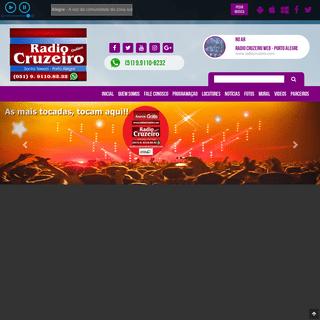 RADIO CRUZEIRO WEB - Porto Alegre - A voz da comunidade da zona sul de Porto Alegre. A mudança começa pela informação de qua
