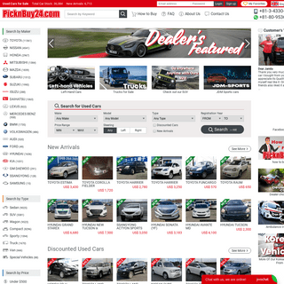 Used Cars for Sale - PicknBuy24.com