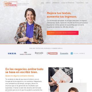 Maïder Tomasena - Aprende Copywriting Online