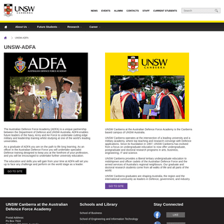 UNSW-ADFA - UNSW Canberra