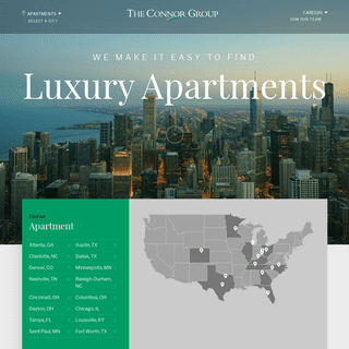 The Connor Group - Luxury Apartments and Studios for Rent