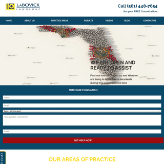 Personal Injury Lawyer - Injury Attorneys - LaBovick Law Group