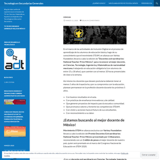 Tecnología en Secundarias Generales - Blog de intercambio de experiencias en el empleo de TIC en Ciencias, Matemáticas, Españ