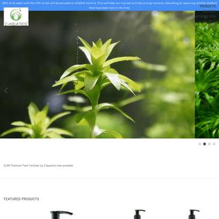 High Quality and Affordable Live Aquarium Plants - Z-Aquatics