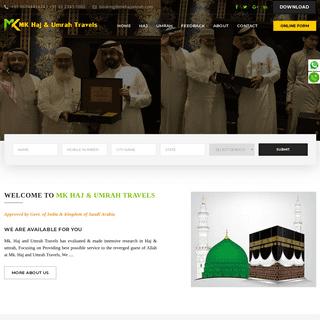 Best Haj Umrah Travel in Kolkata -- Best Services With Affordable Price-- MK Haj & Umrah Travels