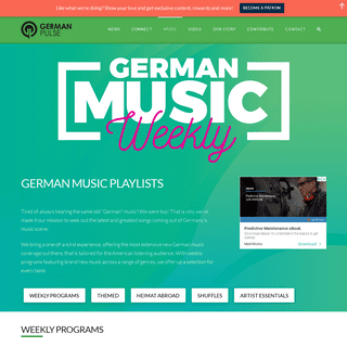 Discover German Music - Weekly Playlists on Apple Music & Spotify