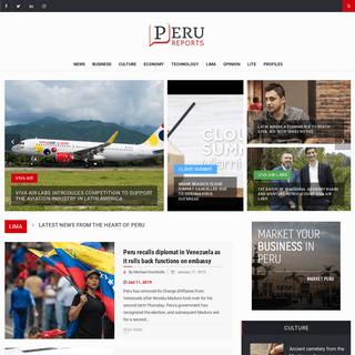 Peru Reports - Perú Reports