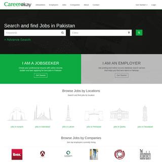 Jobs in Pakistan - CareerOkay.com