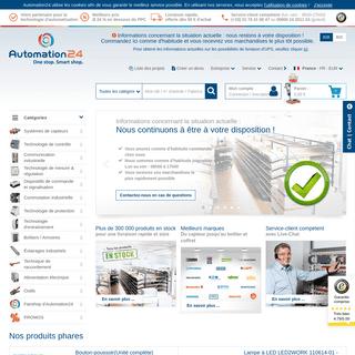 Automation24 – Votre boutique en ligne de la technologie d'automatisation !