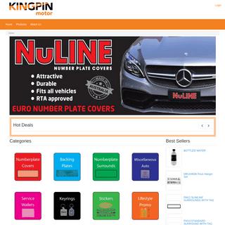 ArchiveBay.com - kingpinmotor.com.au - KINGPIN Order Manager