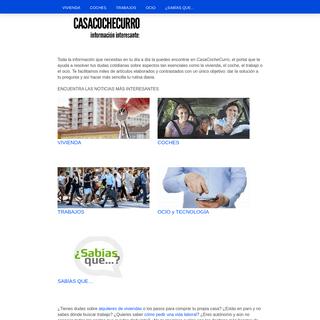 Casacochecurro.com- información interesante
