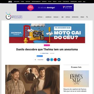 Amor de Mãe- Durval revela a Danilo que Thelma tem um aneurisma
