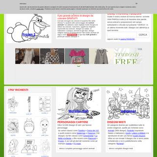 Disegni da Colorare e da stampare per Bambini