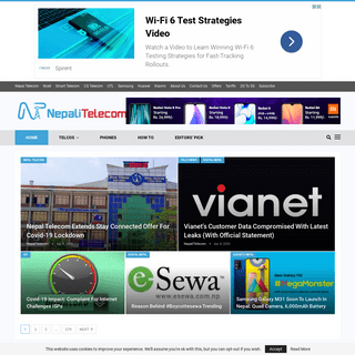 Latest Telecom News, Information and Offers of Nepal - NepaliTelecom
