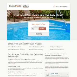 Find Swimming Pools Contractors, Swimming Pools Companies, and Swimming Pools Estimates