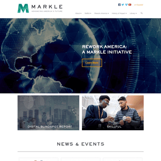 Markle - Advancing America's Future -