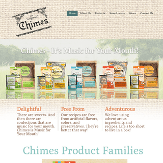 Chimes Gourmet, home of the Original Ginger Chews