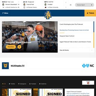 North Carolina A&T - Official Athletics Website