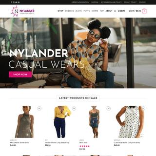 Nylander Fashion House – Nylander Fashion House