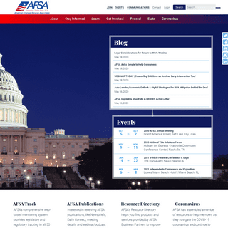ArchiveBay.com - afsaonline.org - American Financial Services Association