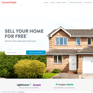 Housesimple- Online Estate Agents - Sell your home for FREE Property Agent