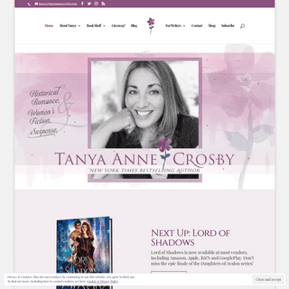ArchiveBay.com - tanyaannecrosby.com - Tanya Anne Crosby – New York Times & USA Today Bestselling Author